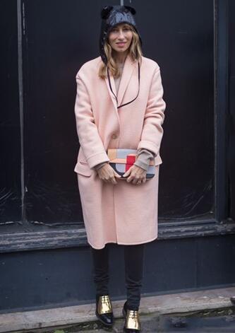 秋冬大衣最有型 穿出优雅女人味