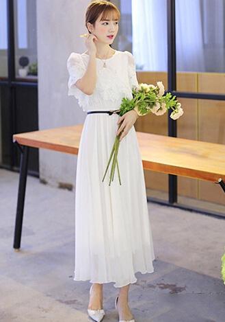 8款唯美长裙 穿出浪漫清新范