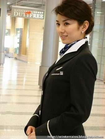 范冰冰领衔 女星空姐制服大比拼