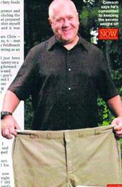 瘦身达人 吃麦当劳瘦身75斤之谜